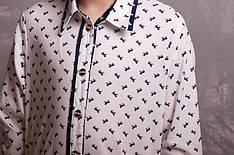 "Рубашка комплект белая ""мама+дочка"""