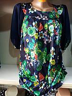 Женская блузка батал (52-58)   купить оптом