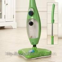 Швабра паровая H2O Mop X5 зеленая