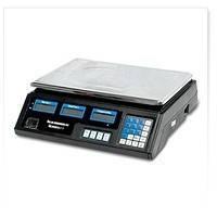 Весы торговые электронные фасовочные настольные Kitchin Plus KP-100