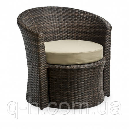 Кресло плетеное круглое из ротанга искуссвенного Диско (Disco-02), фото 2