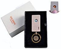 """Спиральная USB зажигалка """"BMW"""" №4808-4, современный, модный и стильный аксессуар курящих мужчин"""