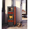 Печь отопительная на дровах Edilkamin  Dafne forno ( с духовкой)