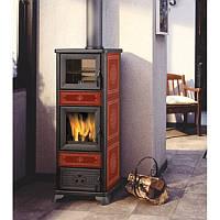 Печь отопительная на дровах Edilkamin  Dafne forno ( с духовкой), фото 1