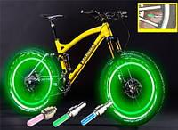 Подсветка на велосипед (светодиодная) ЗЕЛЕНЫЙ