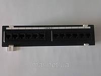 Патч-панели настенная 12хRJ-45 UTP, К-5е, разъем Krone, фото 1