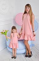 Платье сарафан мама - дочка. Цена за 2 платья! Взрослое и детское. Лето 2017