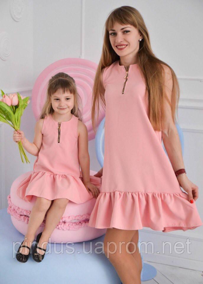 Платье мама - дочка. Цена за 2 платья! Взрослое и детское. Лето 2017 ... 578a0092ca7