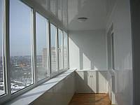 """Балкон под ключ """"Внутренняя отделка пластиком"""""""