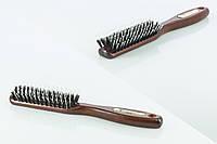Salon - CLB - Щетка - для укладки натуральная щетина - 4762