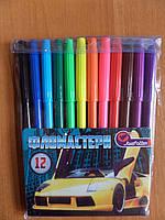"""Фломастеры 12 цв. №828-12Z """"Sport Car"""""""