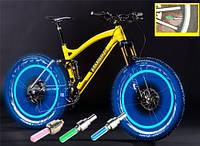 Подсветка на велосипед (светодиодная) СИНИЙ