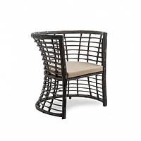 Плетеное кресло из ротанга искусственного Kailash коричневое