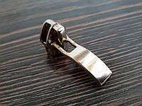 Бегунок для спиральной молнии №7 матовый никель 7МН-015 пузатый