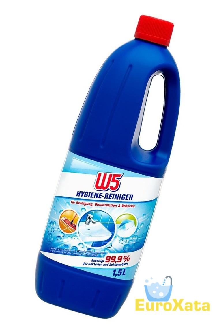 Чистящее средство для ванны и кухни W5 Hygiene Reiniger  1,5 л