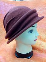 Шляпы RABIONEK из шерсти с полями, темнокоричневый цвет