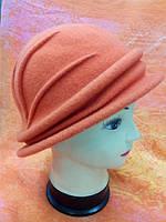 Шляпы RABIONEK из шерсти с полями, оранжевая