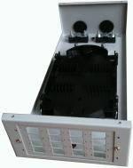 Коробка для 16 SC адаптеров (в комплект не входят), металлическая настенная FOCBM-SС-16