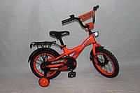 Велосипед двухколёсный 14 дюймов Azimut STREET CROSSER-7 оранжевый***