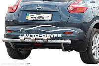 Нижняя защита заднего бампера Nissan Juke 2010-2014