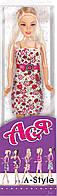 Кукла Ася в платье с цветочным принтом (серия 'А-Стиль') Ася 35051