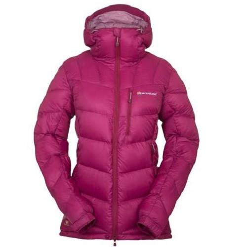 Куртка пуховая с Primaloft Montane Female White Ice Jacket