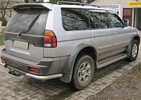 Дефлекторы окон, ветровики Mitsubishi Pajero Sport