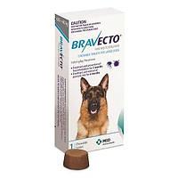 Бравекто (Bravecto) таблетка (жевательная) от блох и клещей для собак (20-40кг)  1таблетка
