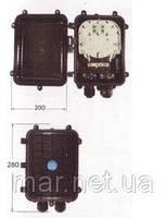Муфта  сварочная,  3 вводов, 1- 4 кассет S022 номинальной емкостью 6 и 12 сварок.