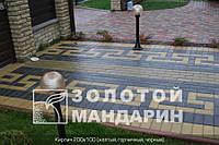 Тротуарная плитка Кирпич 200*100*40