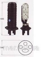 Муфта сварочная,  5 вводов, 1- 4 кассет S032 емкостью 12 и максимальной 24 сварок.