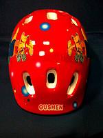 Шлем детский Oushen (для роликов,велосипедов.) для девочек., фото 1