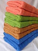 Махровое банное полотенце, размеры 1,4 x 0,7