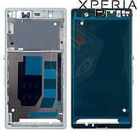 Рамка крепления дисплея для Sony Xperia Z C6602/C6603/C6606, оригинал (белая)