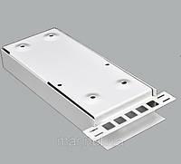 ВО бокс малый до 4 волокон , с кабельным организатором , 200х80х28 мм , серый