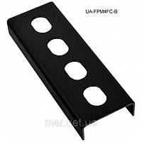 Планка на 4FC/ST Simplex адаптера для бокса FOBSM , черная