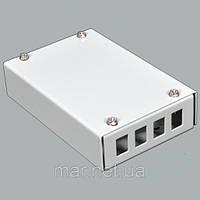 ВО бокс мал 4SC Simplex адаптера , 120х80х28 мм , серый, фото 1