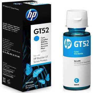 Чорнило HP GT52 Cyan в DeskJet GT-5810, GT-5820 (M0H54AE) 70 ml