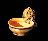 Керамічна сільничка з червоної глини Бабуся, фото 6