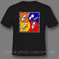 Нанесение фотографий на футболку в Днепропетровске