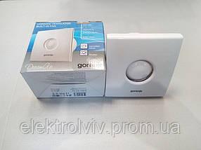 Вентилятор Gorenje BVX 100 WTS с таймером и обратным клапаном