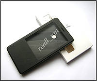 Smart чехол книжка для Xiaomi Mi Max, чехол с окном черный