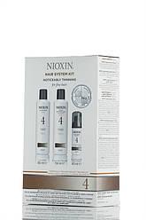 Nioxin 4 - 3-ступенчатая система Для окрашенных истонченных волос - Hair System Kit