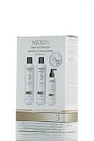 Nioxin 3 - Набор По уходу за тонкими и окрашенными волосами - Hair System Kit
