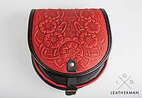 Кожаная женская сумка, мини сумочка, сумка через плечо