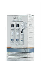 Nioxin 5 - Набор По уходу за тонкими и жесткими волосами - Hair System Kit