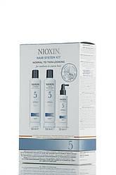Nioxin 5 - 3-ступенчатая система Для химически обработанных с тенденцией к истончению волос - Hair System Kit