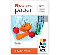 Фотобумага ColorWay матовая, 108 г/м2, Letter, 500 л (PM108500LT)