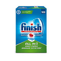 "Таблетки для посудомоечной машины - Finish Powerball ""All in 1"" 100 шт (Оригинал)"