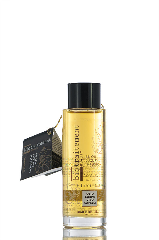 Brelil - Масло - Роскошное ББ для тела и волос - Bio Traitement BB - спец цена  100 мл